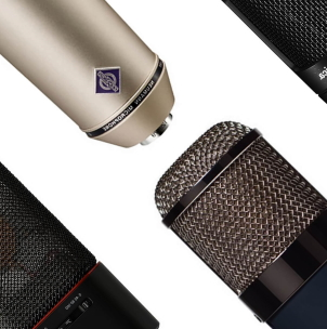 dynamic and ribbon microphones